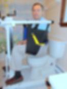Take Along Lift Split Toileting Sling