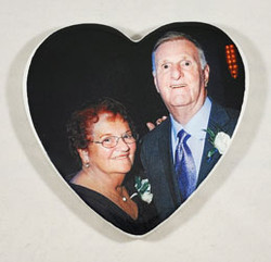 Heart Picture for Headstone