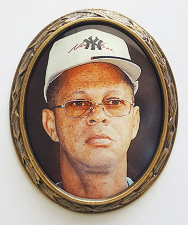 Oval Picture Frame for Headstone