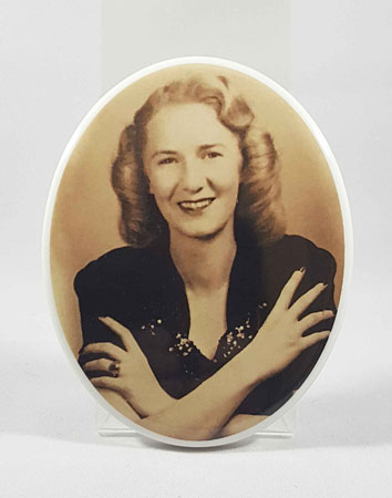 Oval Picture for Headstone