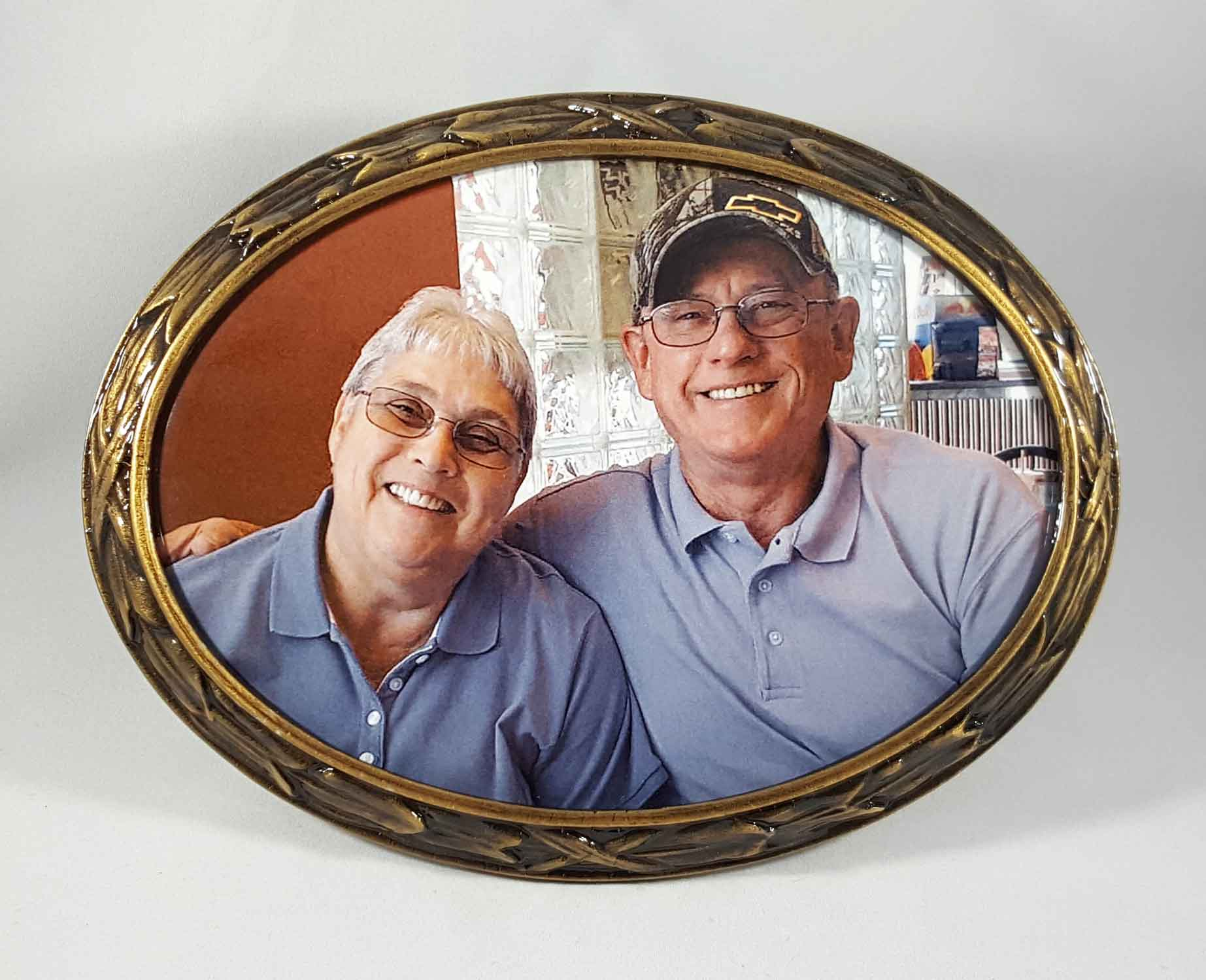 Waterproof Photo Frame for Cemetery