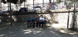 les seniors à paris