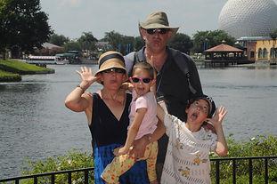 yacht family at Disney