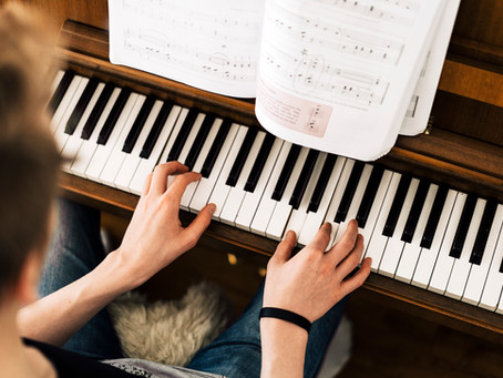 Practical piano lesson 2: Rotation