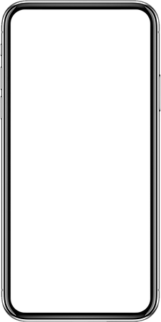 Image of a smart phone frame