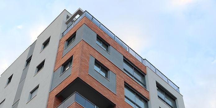 בניין דירות מוכן לאיכלוס