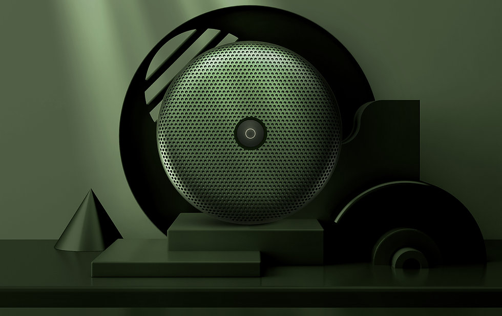 Product shot of speakers