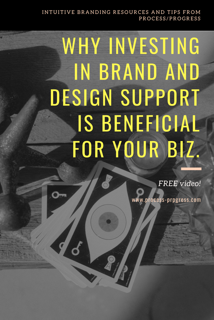Why investing in brand and design support is beneficial for your biz.
