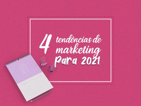 Conheça as tendências de marketing para 2021!