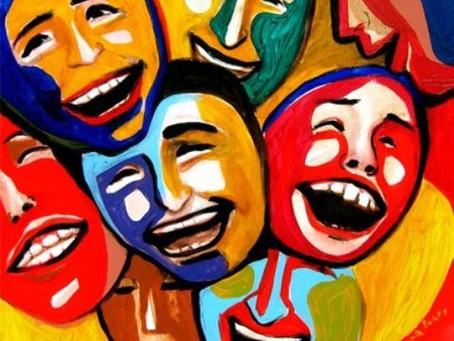 الضحك بلغات مختلفة