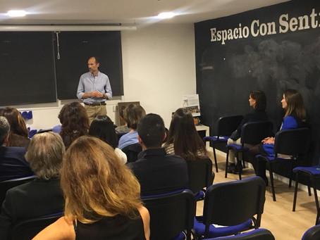 Vivimos una nueva experiencia Mindfulness de la mano de Andrés Martín Asuero