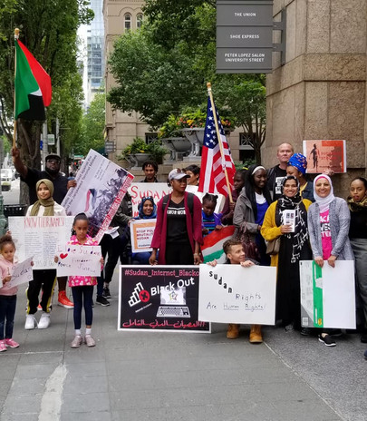 Sudan Solidarity March