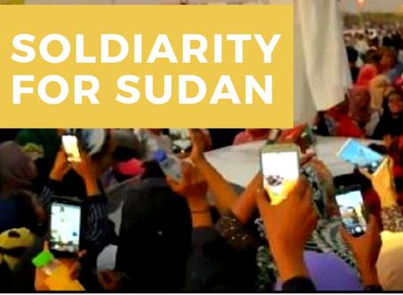 June: Sudan Solidarity March