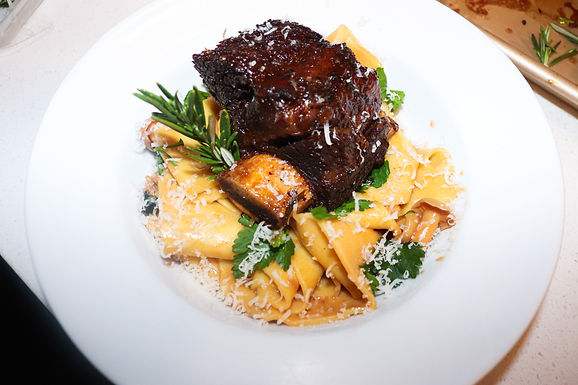 Glazed Balsamic Short Ribs