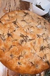 Garlic Rosemary Foccacia