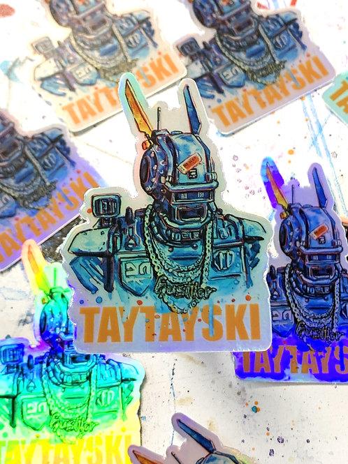 Chappie Holographic Sticker