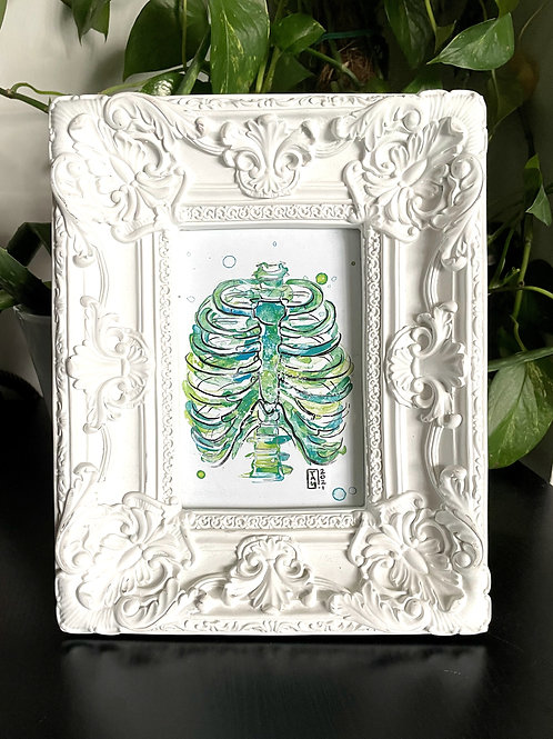 Rib Cage Framed Print **PICK UP ONLY**