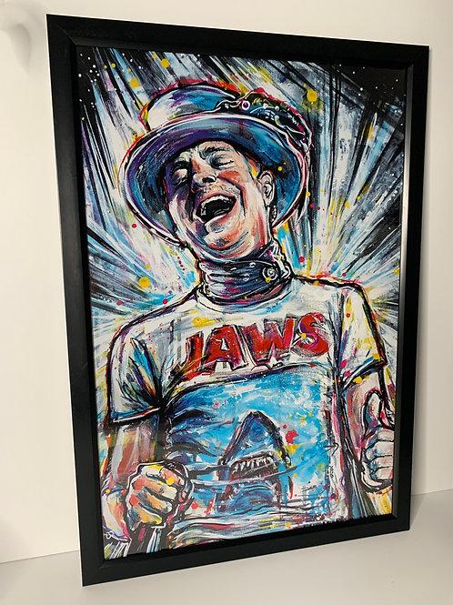 Large Framed Jaws Gord Downie Print