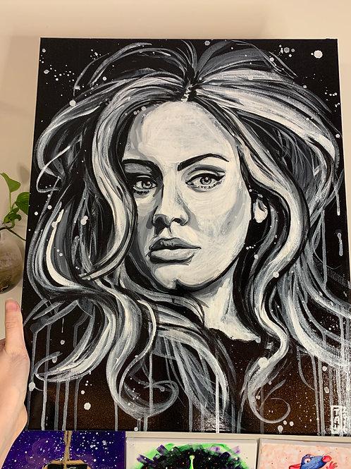 Adele Original Painting
