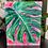 Thumbnail: Lil Pink Monstera Original Painting