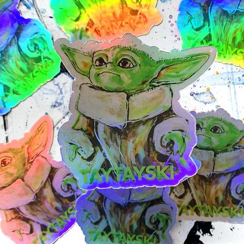 Baby Yodz Sticker