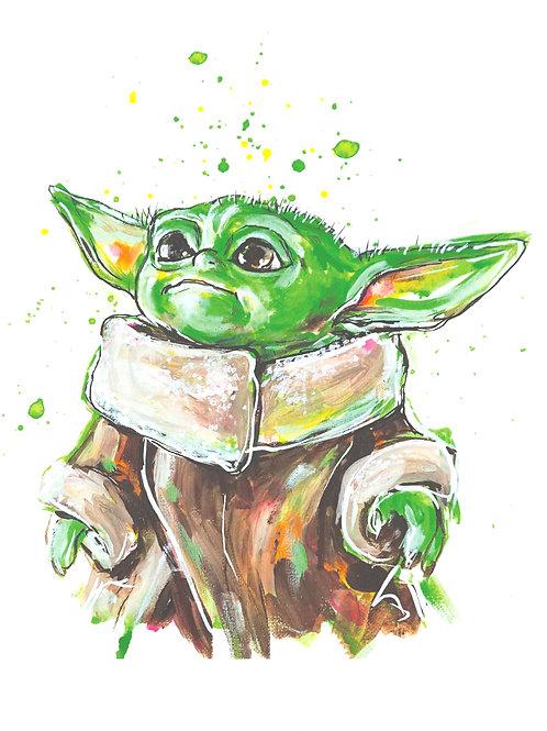 Baby Yodz Print