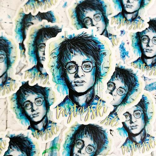 Wizard Boy Sticker