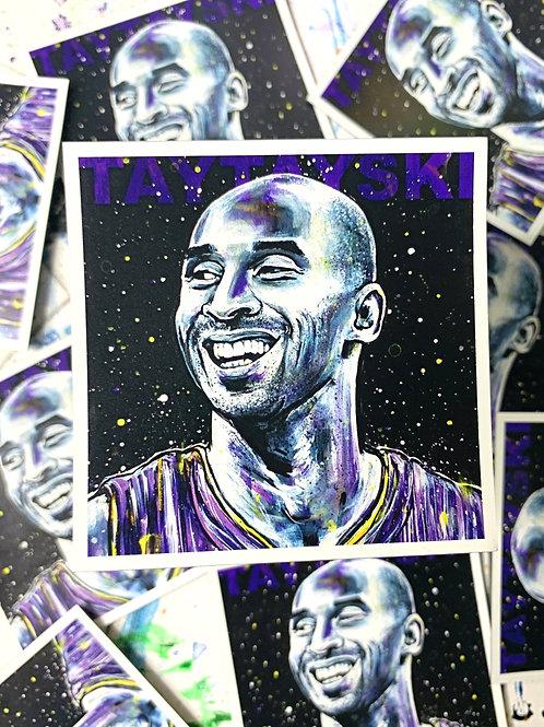Tribute KB Basketball Magnet