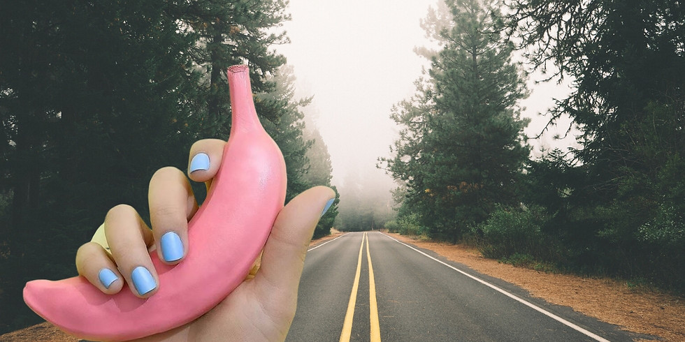 Halfway There meets The Pink Banana - online workshop & networking