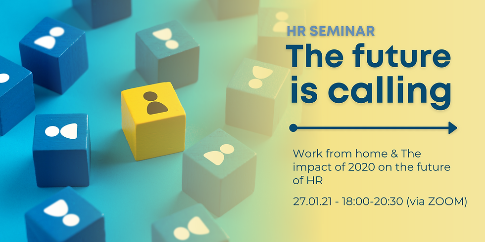 The future is calling - HR seminar & networking (via ZOOM)