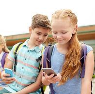 gyerekek és mobil