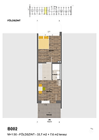 B002 apartman - Eladó nyaraló Balatonföldvár, Balaton déli part