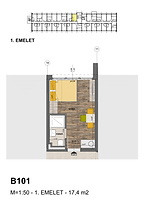 B101 apartman - Eladó nyaraló Balatonföldvár, Balaton déli part