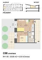 C08 apartman - Eladó nyaraló Balatonföldvár, Balaton déli part