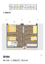B104 apartman - Eladó nyaraló Balatonföldvár, Balaton déli part