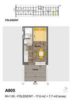 A005 apartman - Eladó nyaraló Balatonföldvár, Balaton déli part