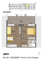 A001 apartman - Eladó nyaraló Balatonföldvár, Balaton déli part