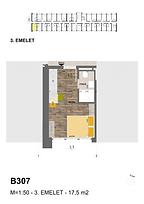 B307 apartman - Eladó nyaraló Balatonföldvár, Balaton déli part
