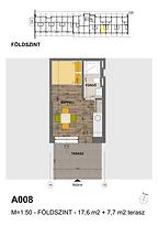 A008 apartman - Eladó nyaraló Balatonföldvár, Balaton déli part