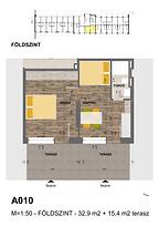 A010 apartman - Eladó nyaraló Balatonföldvár, Balaton déli part