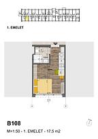 B108 apartman - Eladó nyaraló Balatonföldvár, Balaton déli part