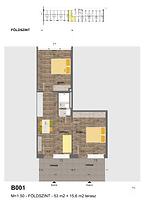 B001 apartman - Eladó nyaraló Balatonföldvár, Balaton déli part