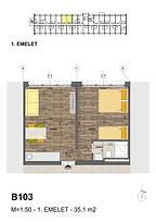 B103 apartman - Eladó nyaraló Balatonföldvár, Balaton déli part