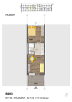 B003 apartman - Eladó nyaraló Balatonföldvár, Balaton déli part