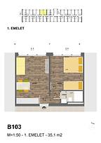 B102 apartman - Eladó nyaraló Balatonföldvár, Balaton déli part