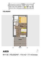 A009 apartman - Eladó nyaraló Balatonföldvár, Balaton déli part