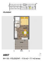 A007 apartman - Eladó nyaraló Balatonföldvár, Balaton déli part