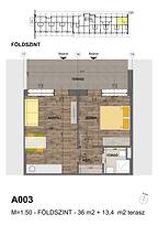 A003 apartman - Eladó nyaraló Balatonföldvár, Balaton déli part