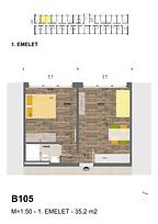 B105 apartman - Eladó nyaraló Balatonföldvár, Balaton déli part