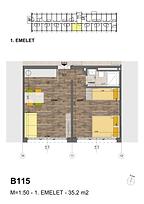B115 apartman - Eladó nyaraló Balatonföldvár, Balaton déli part